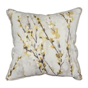 Willow Blossom Mustard Pillow