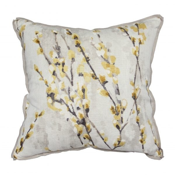 Willow Blossom Mustard Pillow