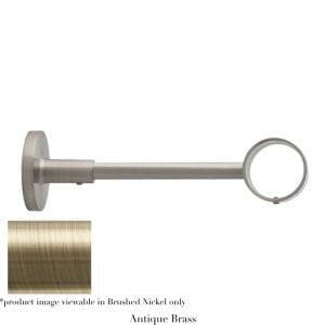 Willow Bloom Bracket-6inOrbital-Antique Brass