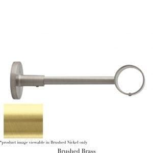Willow Bloom Bracket-6inOrbital-Brushed Brass