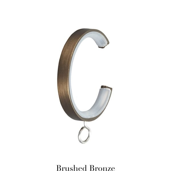 Willow Bloom CRingwithEyelet-Brushed Bronze