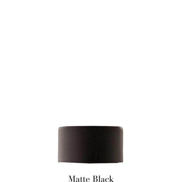 Willow Bloom EndCap-Matte Black