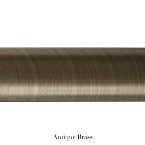 Willow Bloom Pole-Antique Brass