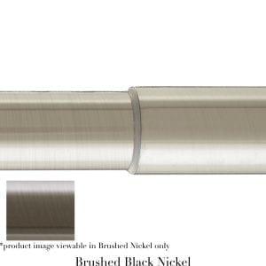 Willow Bloom Pole-Telescoping-Brushed Balck Nickel