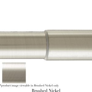 Willow Bloom Pole-Telescoping-Brushed Nickel