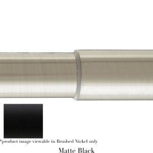 Willow Bloom Pole-Telescoping-Matte Black