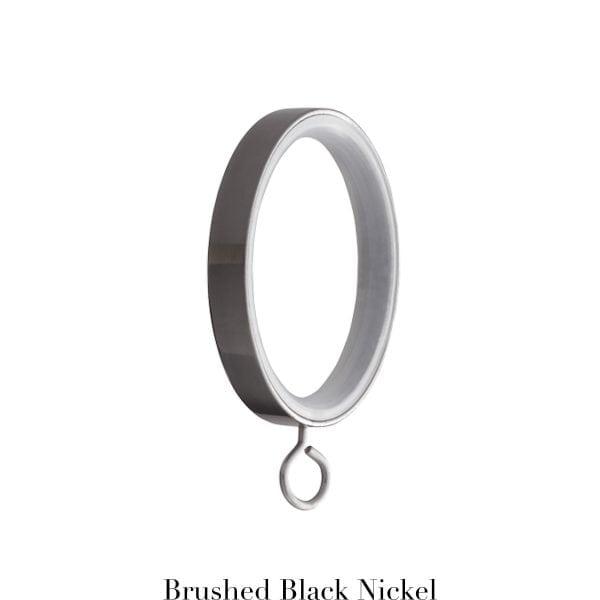 Willow Bloom Rings-withEyelet-Brushed Black Nickel