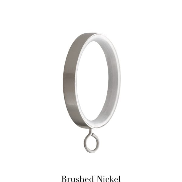 Willow Bloom Rings-withEyelet-Brushed Nickel