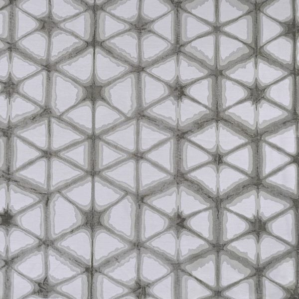 Willow Bloom Hex Silver Drapes