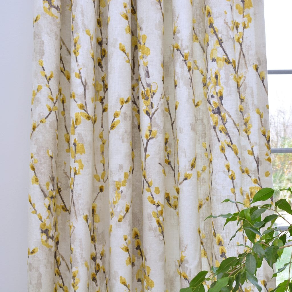 Willow Bloom Home Willow Bloom Mustard Drapes