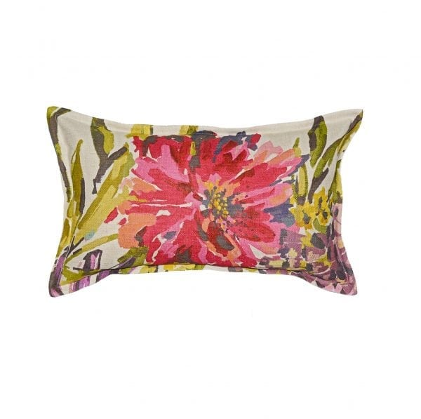 Willow Bloom Claire Lumbar Pillow