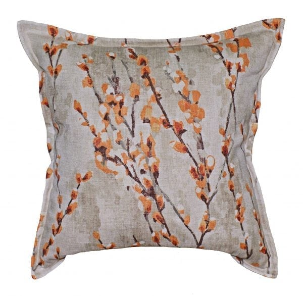 Willow Bloom Orange Pillow