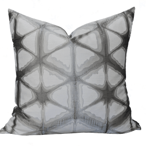 Willow Bloom Hex Silver Pillow