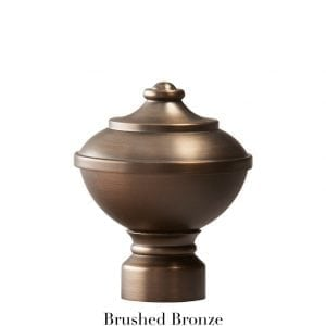 Willow Bloom Urn-Brushed Bronze