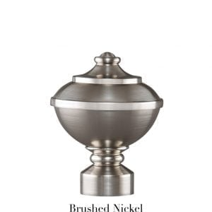 Willow Bloom Urn-Brushed Nickel