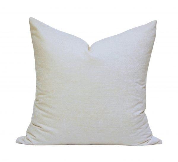 Willow Bloom Velvet Cream Pillow