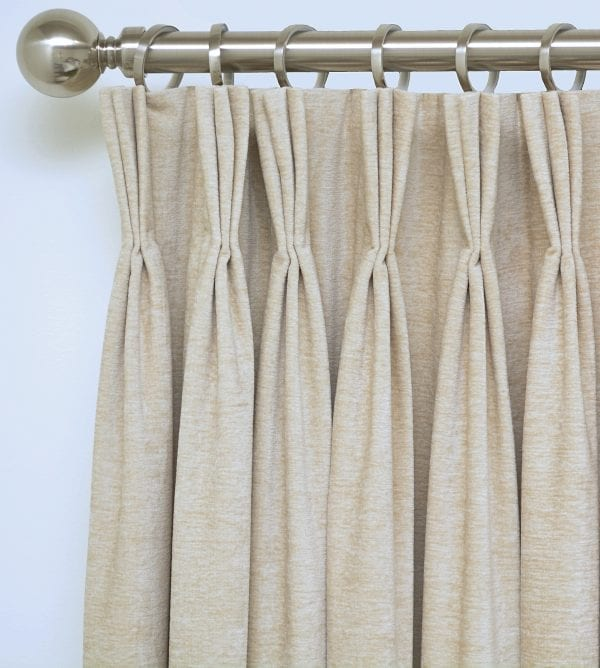 Willow Bloom Home Velvet Oatmeal Drapes