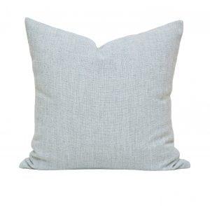 Willow Bloom Linen Aqua Pillow