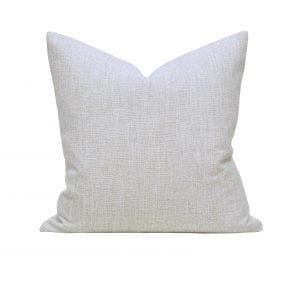 Willow Bloom Linen Dove Pillow