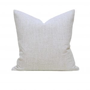 Willow Bloom Linen Dove Pillow