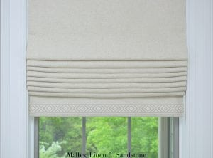 Willow Bloom Malbec Linen ft. Sandstone Trim