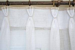 Willow Bloom Sheer Whipstitch Panel