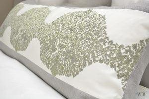 Willow Bloom Grain Sage Green Lumbar Pillow