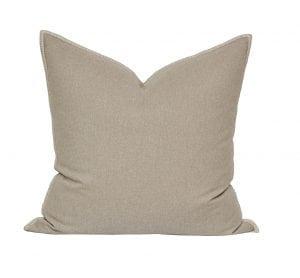 Willow Bloom Linen Whipstitch Pillow