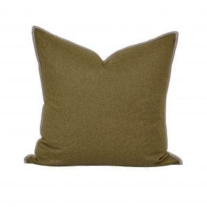 Willow Bloom Sage Whipstitch Pillow