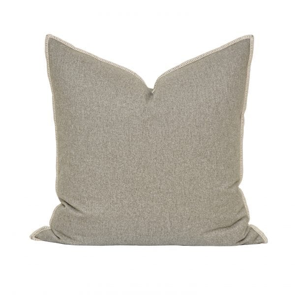 Willow Bloom Zinc Whipstitch Pillow