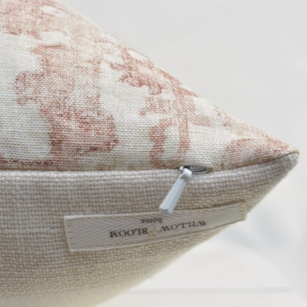 Willow Bloom Arber Dusty Rose Pillow