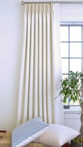 Willow Bloom Home Malbec Oyster Drapes