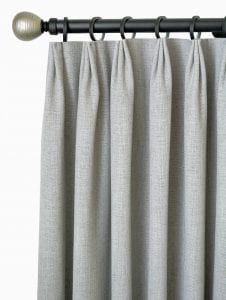 Willow Bloom Home Linen Slate Drapes