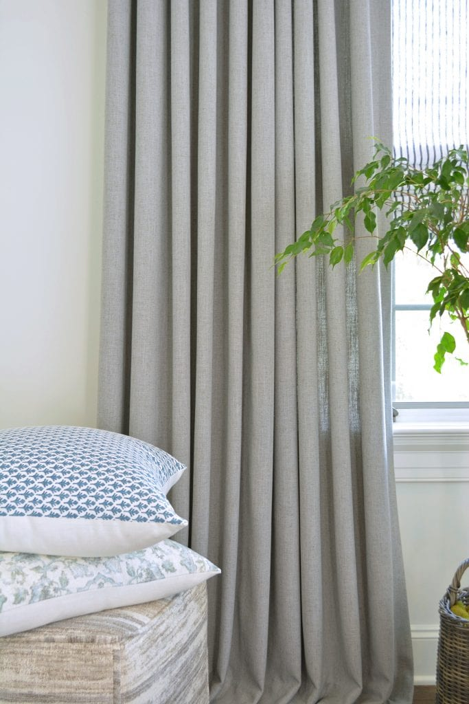 Willow Bloom Home Linen Slate Drapes