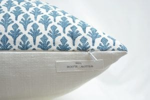 Willow Bloom Amala, Blueridge Pillow