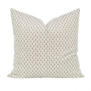 Willow Bloom Amala, Driftwood Pillow