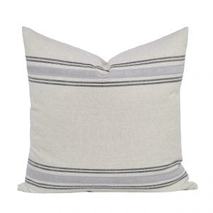 Willow Bloom Marlow Charcoal Pillow