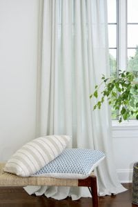 Willow Bloom Home Batiste Silver Drape