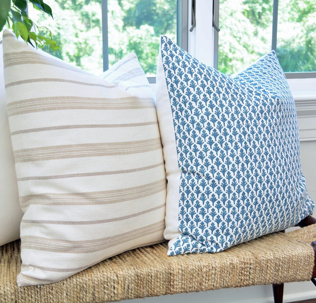 Willow Bloom Morelo Pillow, Amala Blueridge Pillow