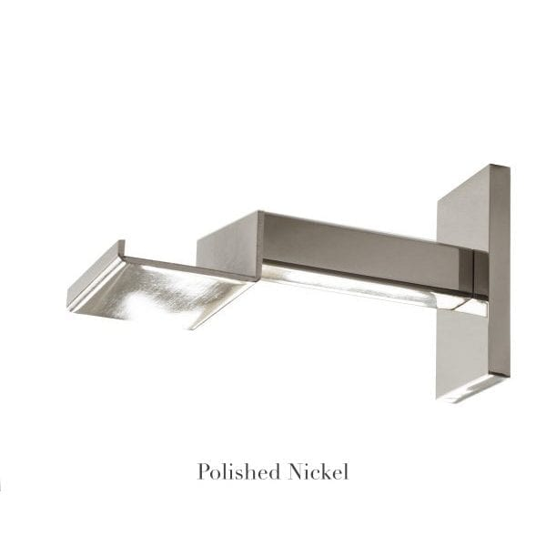 "Willow Bloom Home 4 3/4"" Bypass Bracket Polished Nickel"
