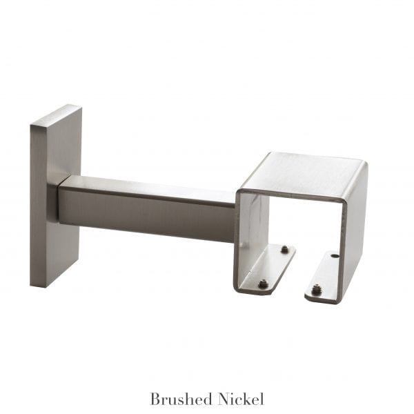 Willow Bloom Home 4 3/4 Projection Bracket Brushed Nickel
