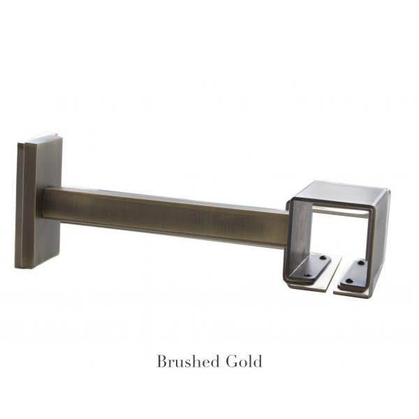 Willow Bloom Home 7 Projection Bracket Brushed Gold