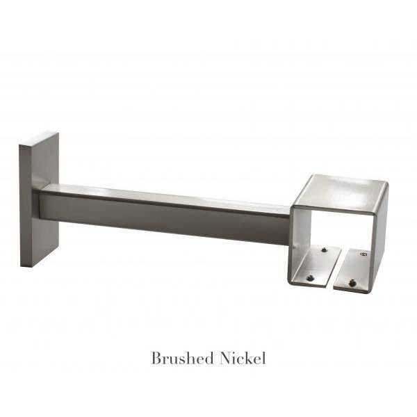 Willow Bloom Home 7 Projection Bracket Brushed Nickel