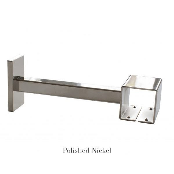 Willow Bloom Home 7 Projection Bracket Polished Nickel