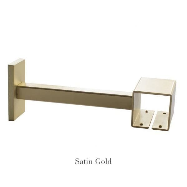 Willow Bloom Home 7 Projection Bracket Satin Gold