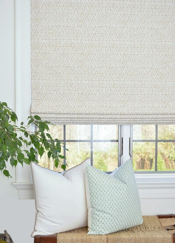 Willow Bloom Home Beaufort Chalk Roman Shade