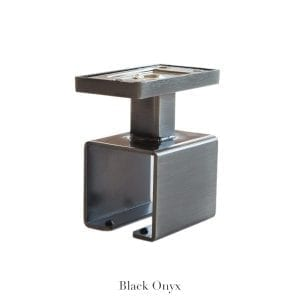 Willow Bloom Home Ceiling Bracket Black Onyx