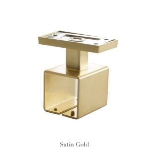 Willow Bloom Home Ceiling Bracket Satin Gold