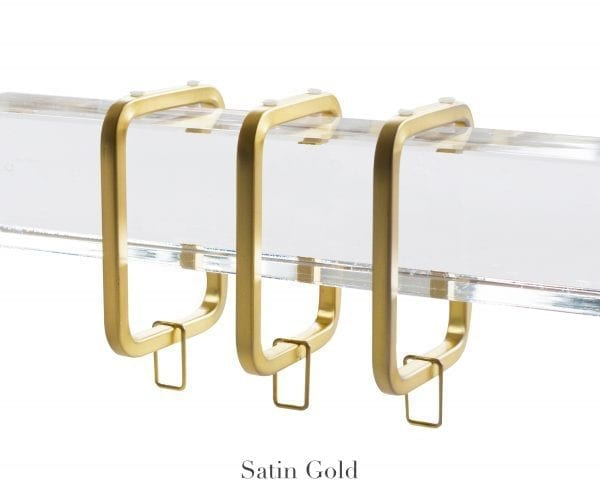 Willow Bloom Home Cube C-Ring Satin Gold
