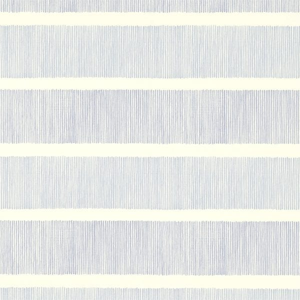 Willow Bloom Home Addison Indigo:Blue Wallpaper